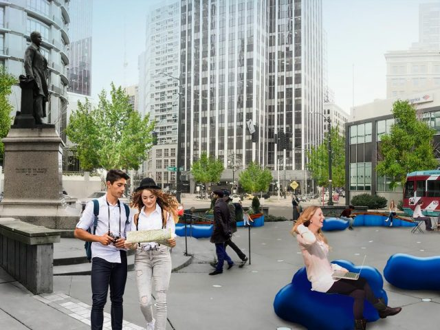 McGraw Square rendering by Framework