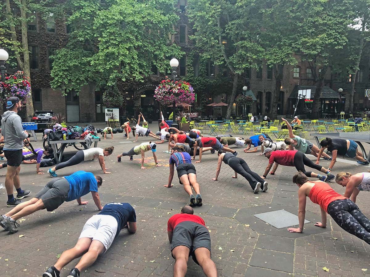 Crossfit in Occidental Square