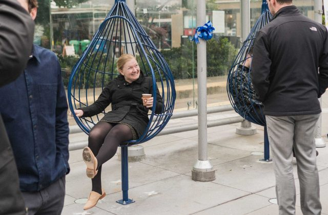 McGraw Square raindrop chairs