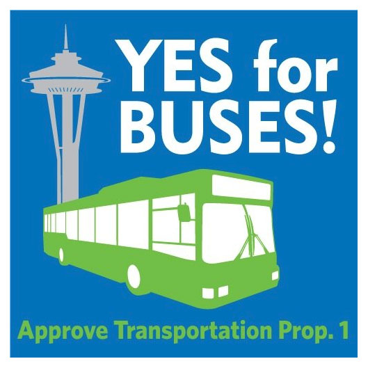 Yes for Buses! Approve Transportation Prop. 1