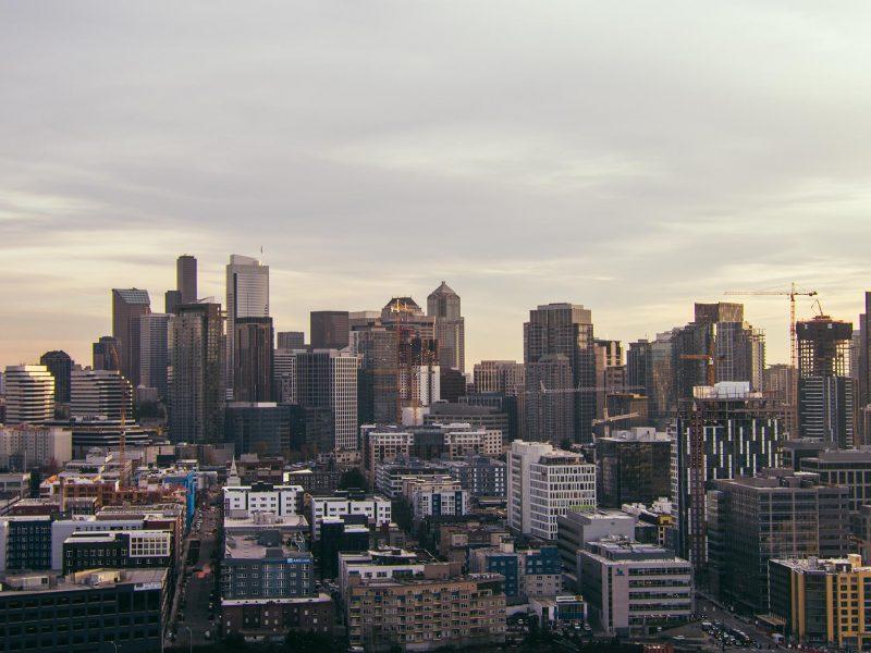 Downtown Seattle cityscape