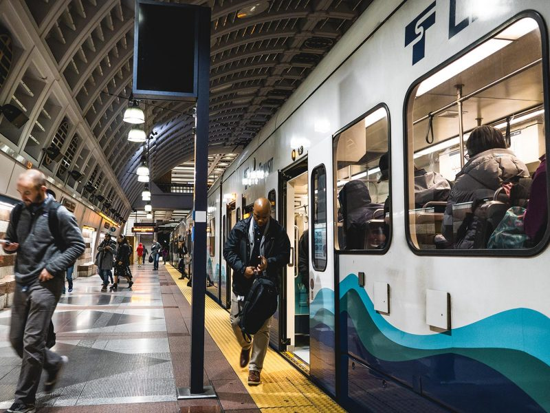 Link station in Seattle