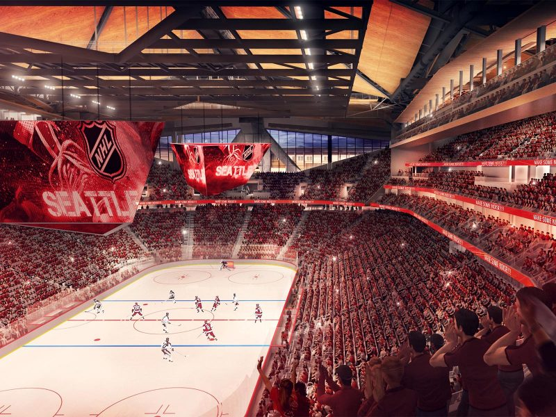 NHL Seattle rendering - Credit: Populous